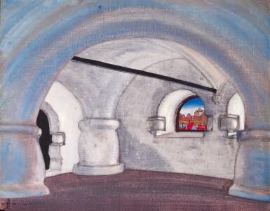 View 1. Thumbnail of Lot 13. NIKOLAI KONSTANTINOVICH ROERICH   CHAMBER IN SADKO'S PALACE.