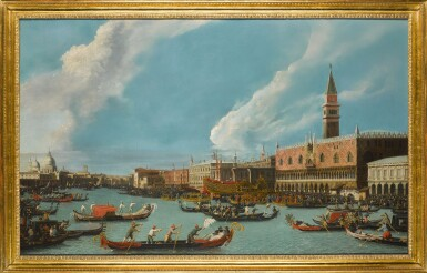 View 2. Thumbnail of Lot 206. Venice, the Bucintoro returning to the molo on Ascension day.