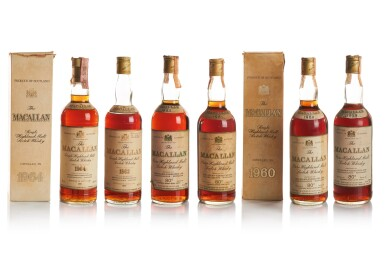 THE MACALLAN 18 YEAR OLD 43.0 ABV 1964