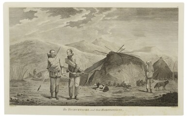 View 3. Thumbnail of Lot 128. COOK, CAPTAIN JAMES | [Complete set of the Voyages of Captain Cook].