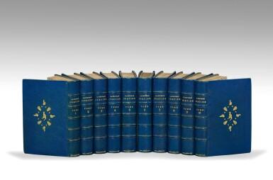 View 3. Thumbnail of Lot 167. SADE. La Nouvelle Justine. Rarissime en rel. érotique.Véritables éditions originales publiées à Paris en 1799 et en 1801.