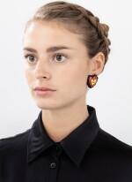 Attributed to [attribué à] Niki de Saint Phalle, Pair of ear clips [Paire de clips d'oreille]