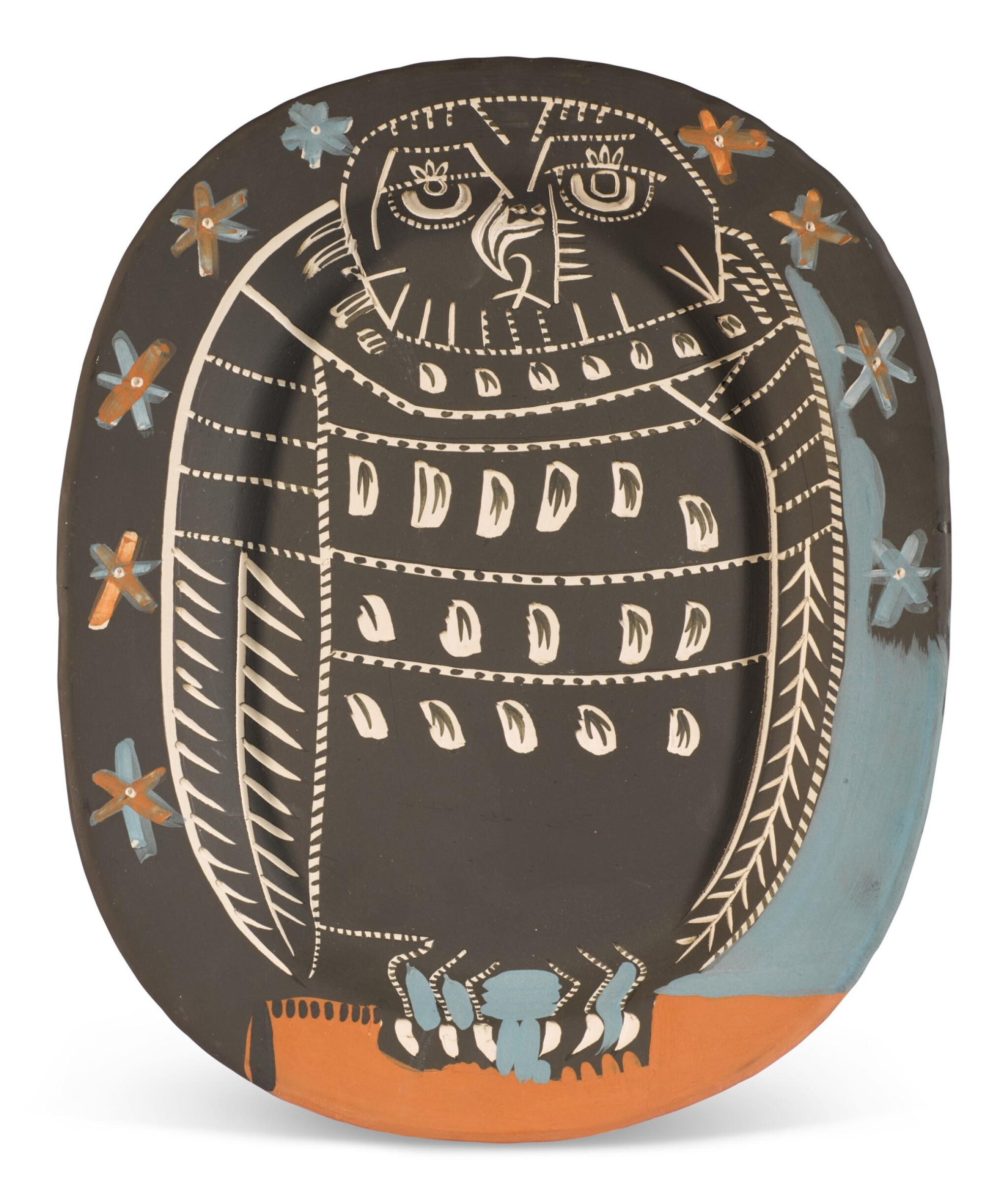 View full screen - View 1 of Lot 61. PABLO PICASSO | HIBOU MAT (A. R. 284).