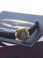 LAURENT FERRIER   GALET MICRO-ROTOR,  A PINK GOLD AUTOMATIC WRISTWATCH CIRCA 2015