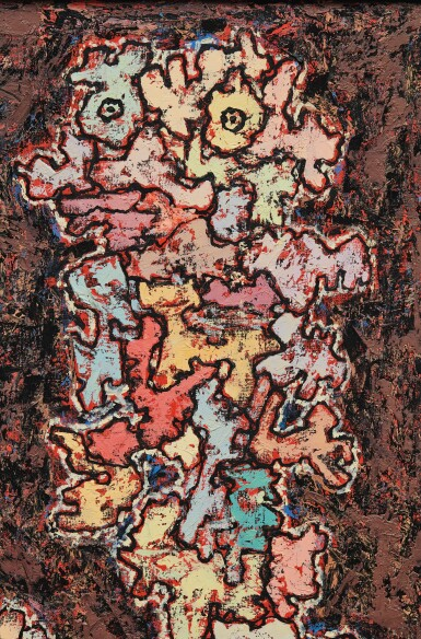View 3. Thumbnail of Lot 32. JEAN DUBUFFET | LE MESSAGER.