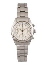 ROLEX | Pre-Daytona, Ref 6234 A Stainless Steel Chronograph Wristwatch with Bracelet 1959