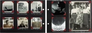 "View 2. Thumbnail of Lot 49. Sylvia Plath | Family photograph album (""The Hughes family Album""), 1957-1962."