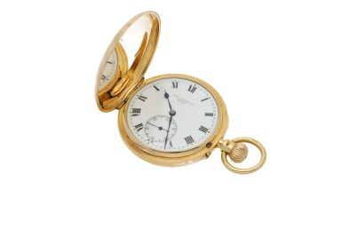 View 2. Thumbnail of Lot 44. CHARLES FRODSHAM | A PINK GOLD HUNTING CASED WATCH CIRCA 1916.
