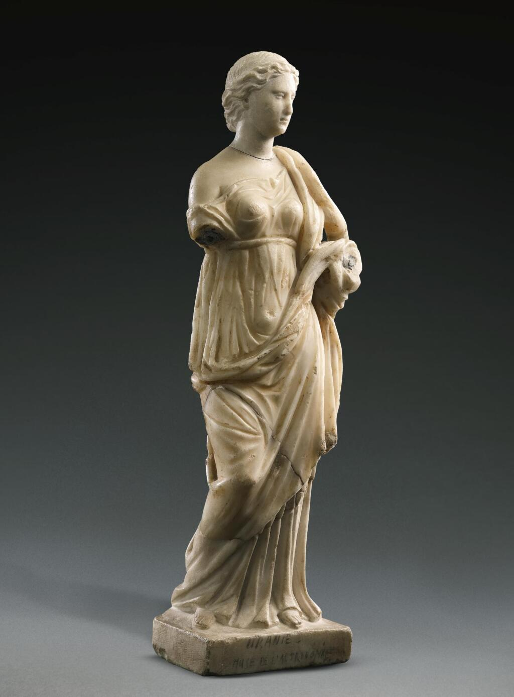 A ROMAN MARBLE FIGURE OF HYGIEIA, CIRCA 2ND CENTURY A.D., WITH 18TH/19TH CENTURY RESTORATIONS