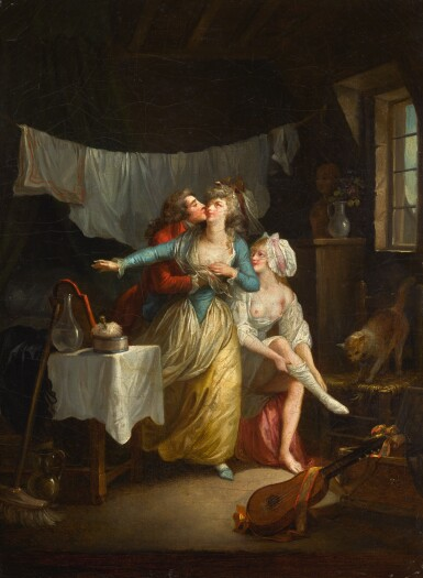 JEAN-FRÉDÉRIC SCHALL | An amorous advance in an interior