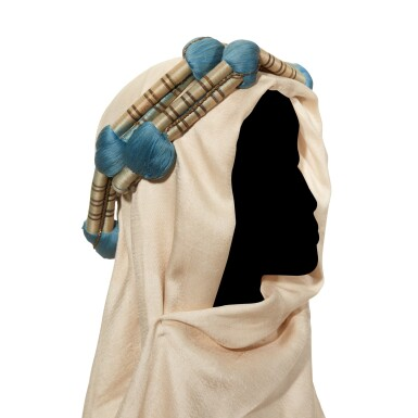 View 2. Thumbnail of Lot 92. LAWRENCE | Keffiyah or head-dress, with head-band, from Lawrence's driver in 1918.