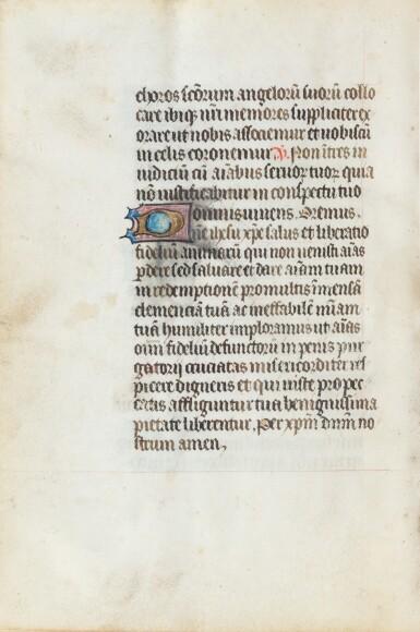 View 8. Thumbnail of Lot 23. Livre d'heures (usage de Rome). Heures dites de Fyot de Mimeure. [Belgique, Bruges, vers 1460].