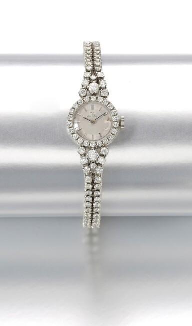 LADY'S DIAMOND WRISTWATCH | OMEGA,  1960s
