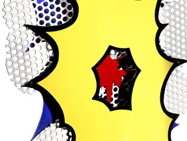 View 5. Thumbnail of Lot 856. ROY LICHTENSTEIN | SMALL EXPLOSION.