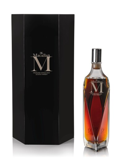 View 1. Thumbnail of Lot 24. The Macallan M Decanter 2013 Edition 1824 Series 44.5 abv NV .
