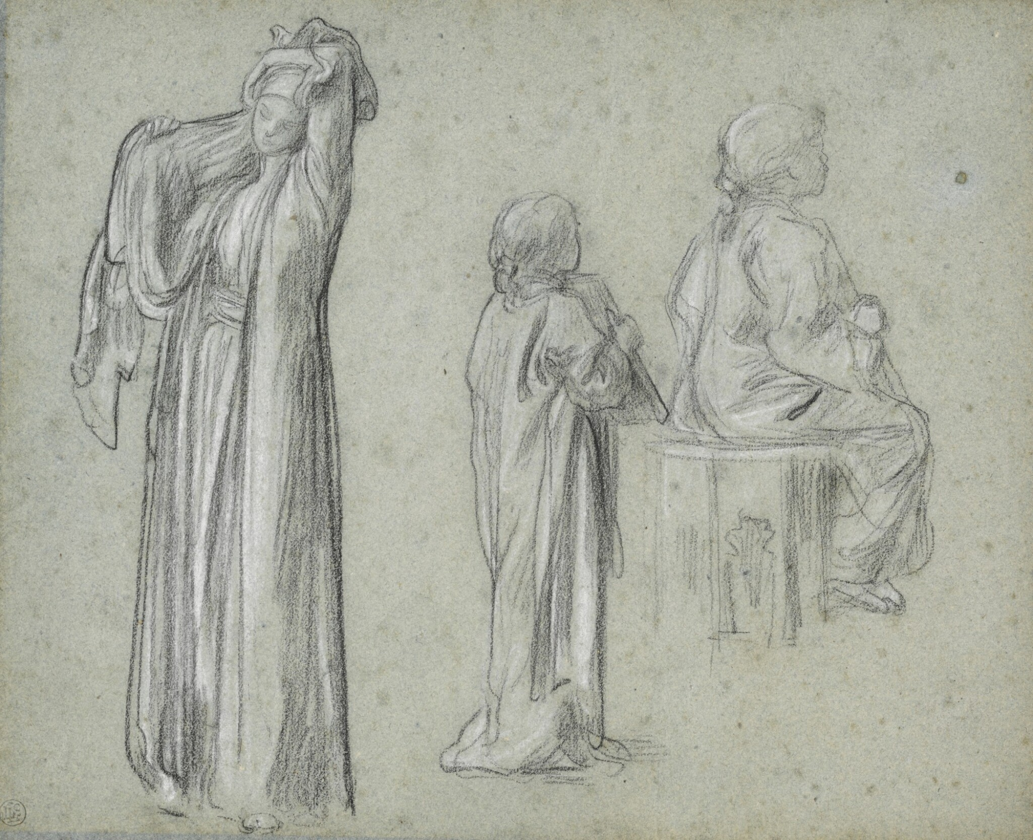 View 1 of Lot 16. Studies for The Light of the Harem.