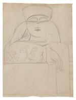 NATALIA GONCHAROVA | DESIGN FOR THE COMMEDIA DELL'ARTE (A DOUBLE-SIDED WORK)