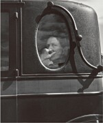 DOROTHEA LANGE | 'END OF AN ERA IN A SMALL VALLEY TOWN, CALIF.' (FUNERAL CORTEGE)