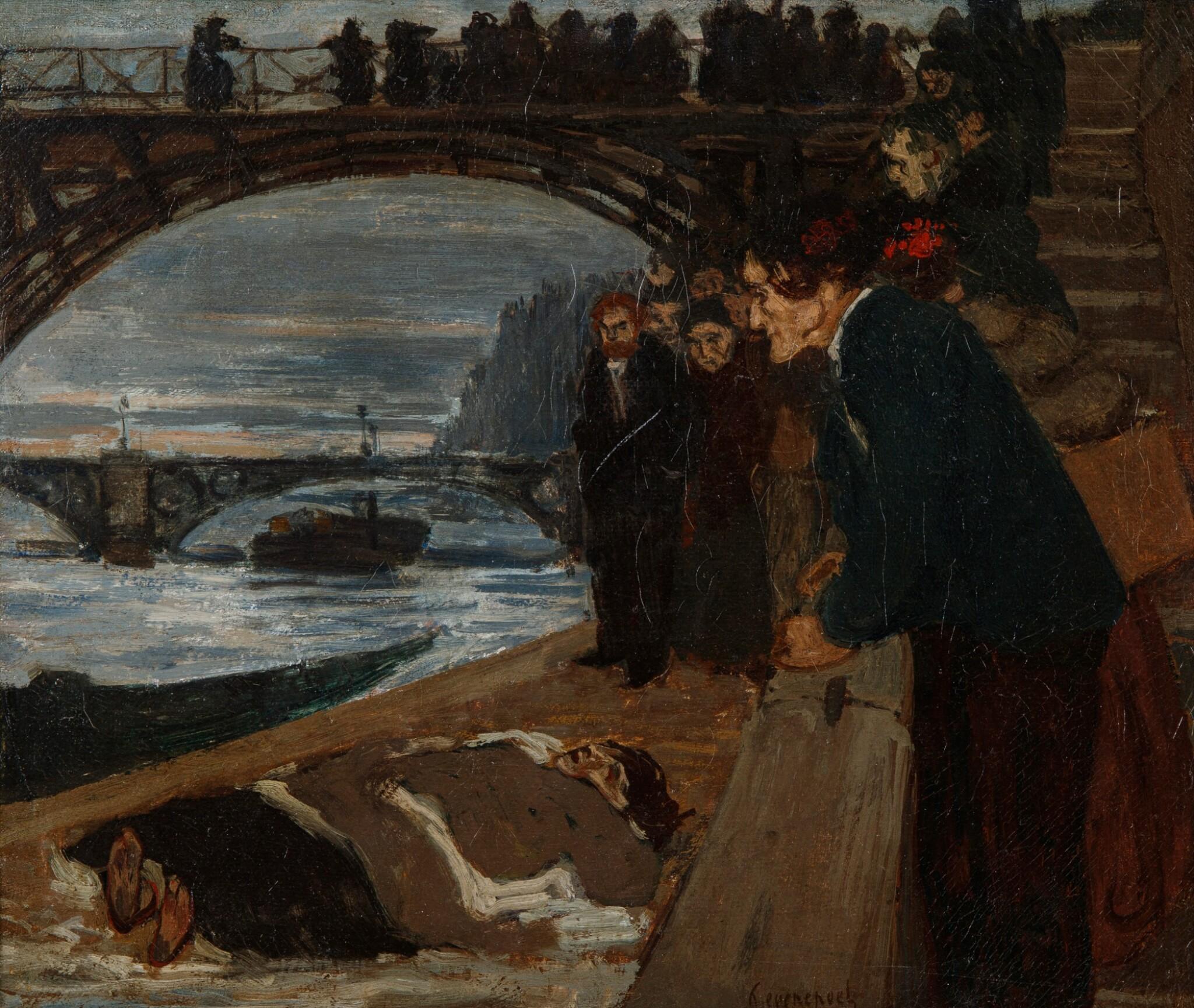 View 1 of Lot 22. Le noyé du Pont des Arts.