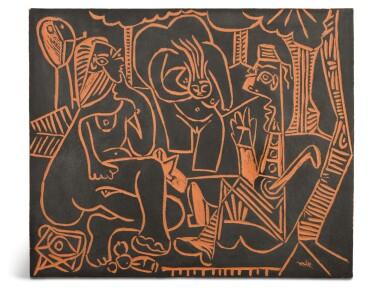 View 1. Thumbnail of Lot 57. PABLO PICASSO | LE DÉJEUNER SUR L'HERBE (A. R. 517).