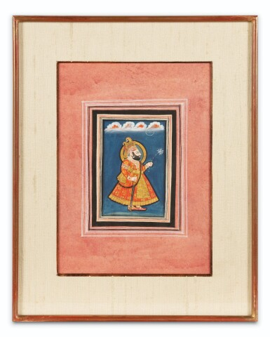 View 8. Thumbnail of Lot 68. RAJASTHAN, MEWAR, LATE 18TH CENTURY AND EARLY 19TH CENTURY | FOUR PORTRAITS OF INDIAN DIGNITARIES.