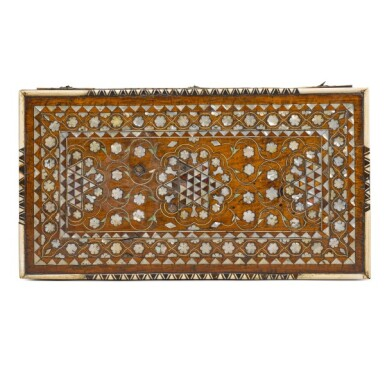 View 6. Thumbnail of Lot 105. Turkey, Ottoman, 18th/19th century | Calligrapher's Chest.