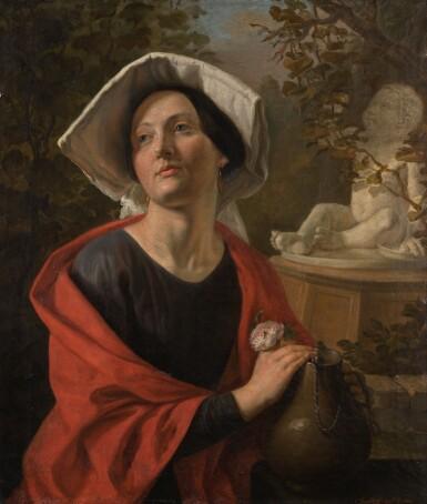 SERGEI IVANOVICH GRIBKOV   ITALIAN WOMAN BY THE WELL