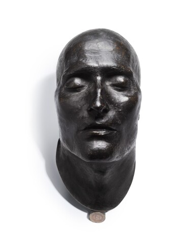 FRANÇOIS ANTOMMARCHI, DEATH MASK OF NAPOLEON, 1780 – 1838 [FRANÇOIS ANTOMMARCHI, MASQUE MORTUAIRE DE NAPOLEON]