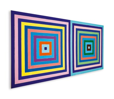 View 2. Thumbnail of Lot 20. Frank Stella 弗蘭克・斯特拉  | Untitled (Double Concentric Square) 無題(雙同心正方形).