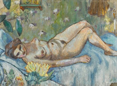 View 1. Thumbnail of Lot 44. Nude.