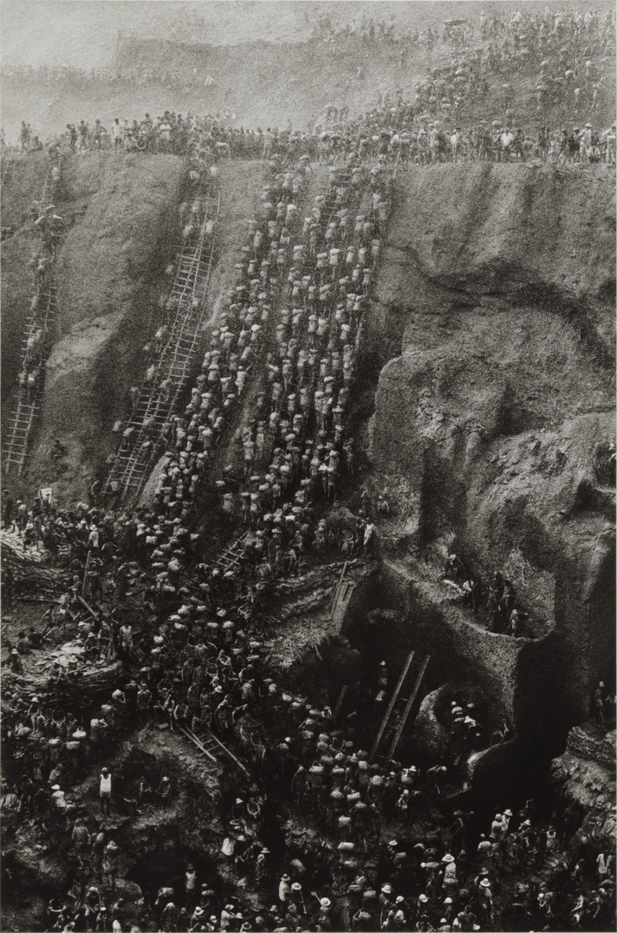 View full screen - View 1 of Lot 10. 'Serra Pelada, Gold Mine, Brazil'.