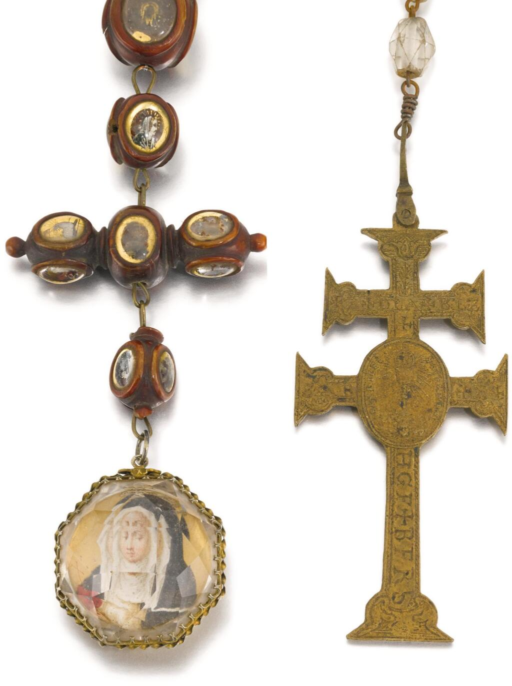 SPANISH, PROBABLY LATE 17TH CENTURY | Patriarchal Cross