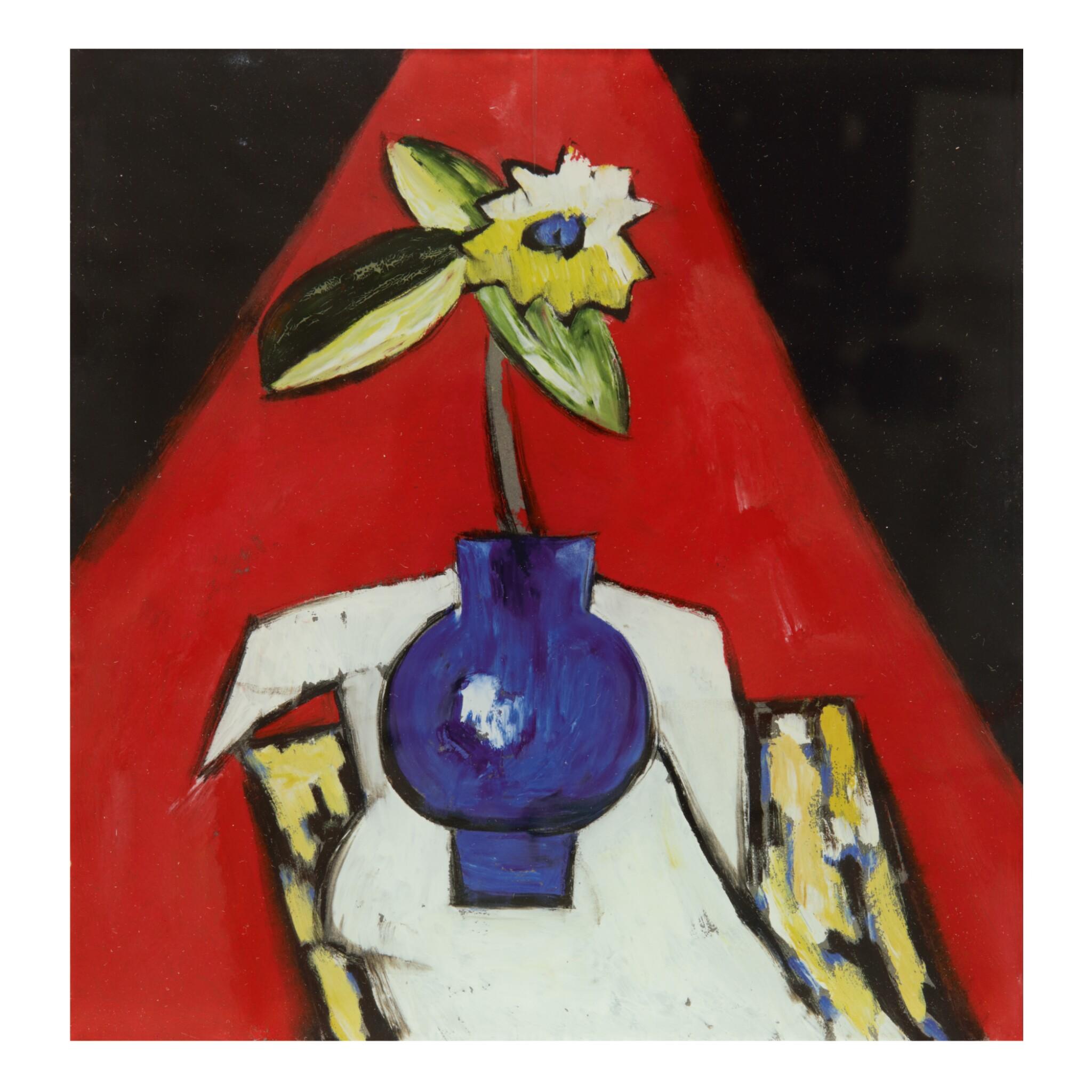 MARSDEN HARTLEY | FLOWERS IN A VASE