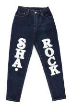 MC SHA-ROCK'S LEVIS 505 JEANS WITH CUSTOM DESIGNS BY BUDDY ESQUIRE, CA 1999