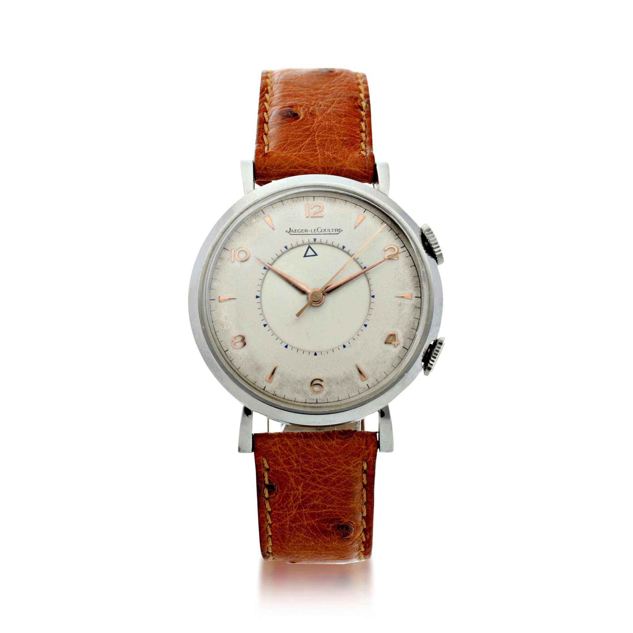View full screen - View 1 of Lot 240. MEMOVOX A STAINLESS STEEL ALARM WRISTWATCH, CIRCA 1960.