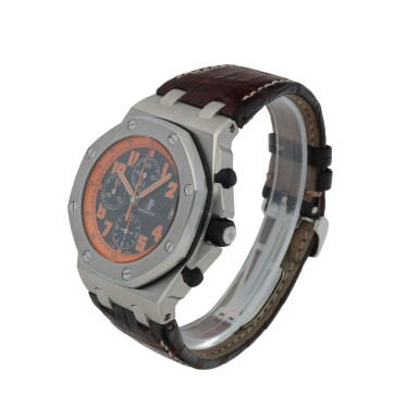 View 2. Thumbnail of Lot 654.  'VOLCANO' ROYAL OAK OFFSHORE, REF 26170ST.00.D101CR.01  STAINLESS STEEL CHRONOGRAPH WRISTWATCH WITH DATE CIRCA 2013.