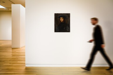 View 4. Thumbnail of Lot 12. Portrait of a young man in black.
