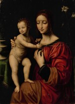 FOLLOWER OF BERNARDINO LUINI | MADONNA AND CHILD