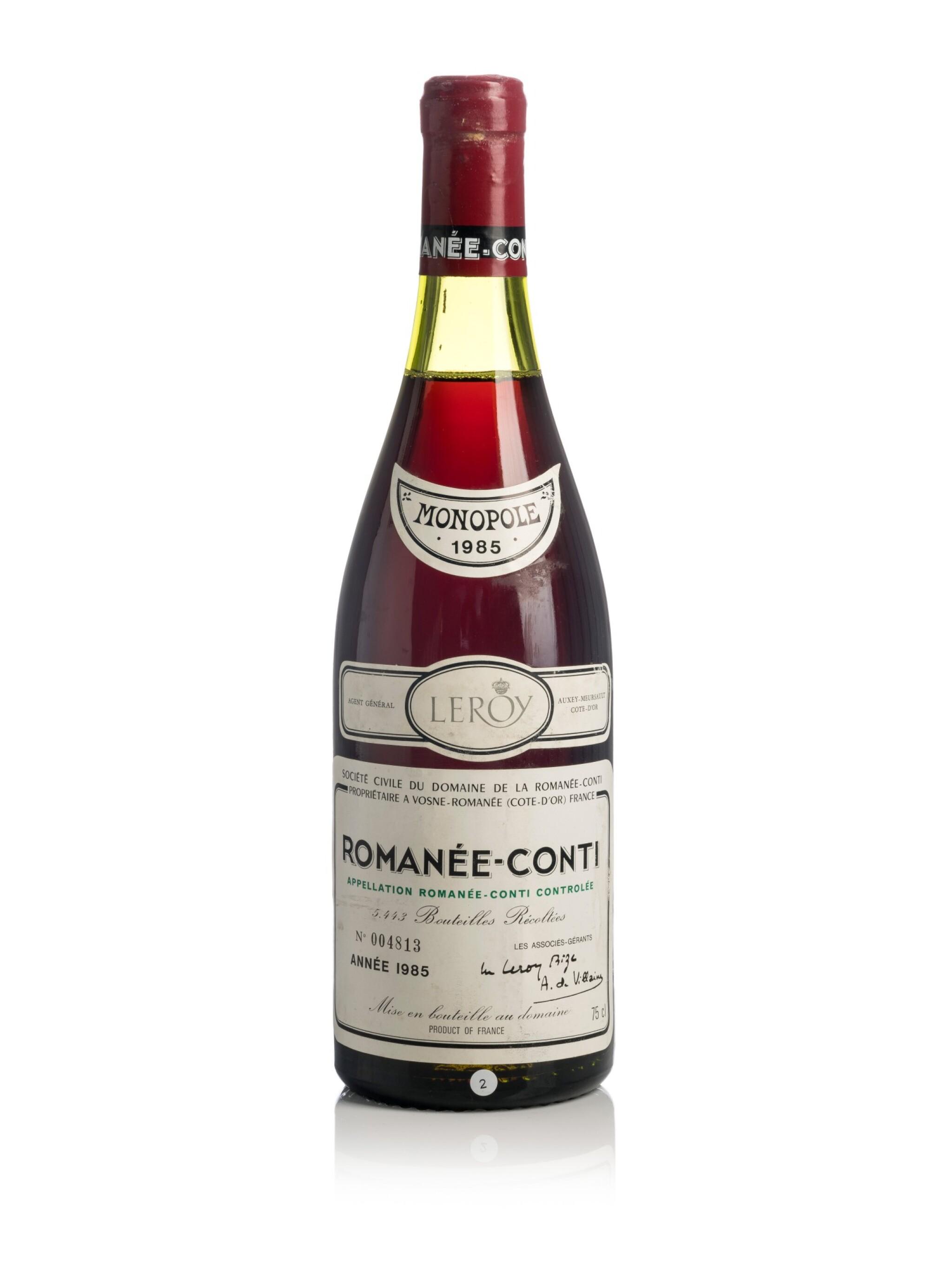 Romanée Conti 1985 Domaine de la Romanée-Conti (1 BT)