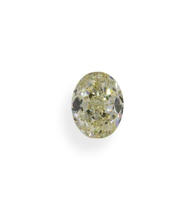 A 1.86 Carat Oval-Shaped Diamond, Y-Z Color, Internally Flawless