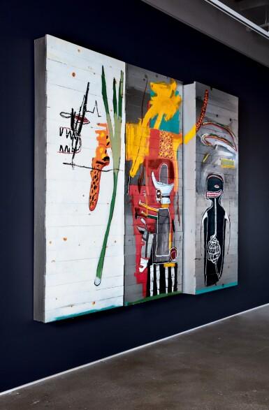View 3. Thumbnail of Lot 15. Jean-Michel Basquiat 尚・米榭・巴斯基亞 | Untitled 無題.