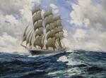 ANTON OTTO FISCHER | CLIPPER SHIP