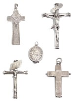 A COLLECTION OF ECCLESIATICAL SILVER, MOSTLY ATTRIBUTED TO GALWAY, 18TH CENTURY