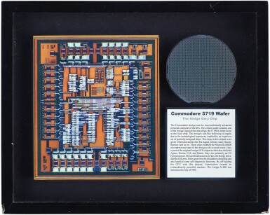 View 4. Thumbnail of Lot 43. A COLLECTION OF FRAMED MICROCHIPS.