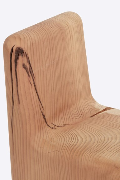View 2. Thumbnail of Lot 106. Redwood Chair.