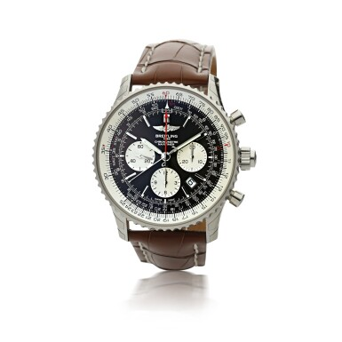 BREITLING  |  REFERENCE AB0310 NAVITIMER RATTRAPANTE   A STAINLESS STEEL AUTOMATIC SPLIT-SECONDS CHRONOGRAPH WRISTWATCH WITH DATE, CIRCA 2017