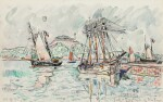 PAUL SIGNAC | PAIMPOL, LES TERRENEUVAS