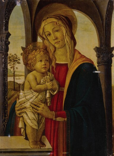 View 1. Thumbnail of Lot 25. Madonna and Child.