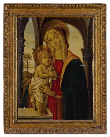 View 2. Thumbnail of Lot 25. Madonna and Child.