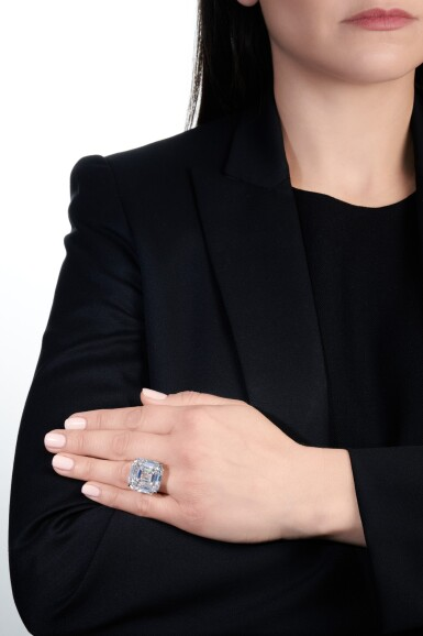 View 6. Thumbnail of Lot 122. Exceptional diamond ring | 鑽石戒指.